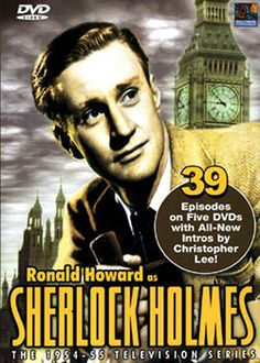 Oh look - A Holmes in my Telly! - Sunday: Sherlock Holmes (1950s) with Ronald Howard!