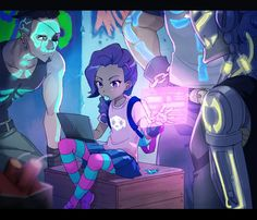 Some cool sombra art 👍🏻 Overwatch Comic, Overwatch Memes, Overwatch Fan Art, Manga, Overwatch Wallpapers, Overwatch Drawings, Art Anime, Video Game Art, Game Character