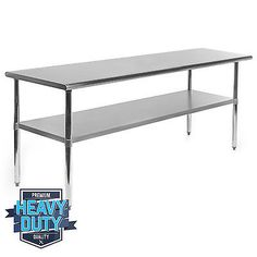 Stainless-Steel-Commercial-Kitchen-Work-Food-Prep-Table-24-034-x-72-034