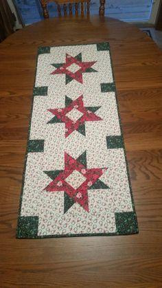 Christmas Table Runner made by Rachel