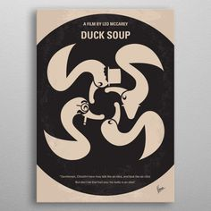 My Duck Soup minimal mov. by Chungkong Art Duck Soup, Wall Art Prints, Canvas Prints, The Fool, Minimal, Canvas Art, Wall Decor, Posters, Fine Art