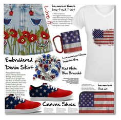 """""""23.06.16 / 4-th of July """"Outfit Ideas"""""""" by shirleipatricia ❤ liked on Polyvore featuring Gucci"""