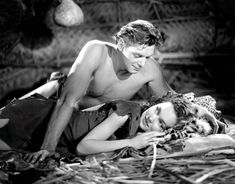 Johnny Weissmuller con Maureen O'Sullivan