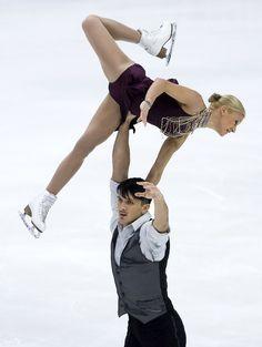 Maxim Trankov | Maxim Trankov Tatiana Volosozhar and Maxim Trankov of Russia skate in ...