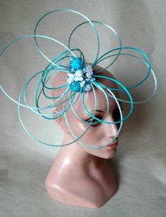 fascinator, pillbox, chapeau de cérémonie, mariage,wedding hat, chapeau femme, chapeau cocktail de la boutique mademoisellebis sur Etsy