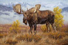 """Valley King"" by Chip Brock - Wildlife Art of Chip Brock, chipbrock.com"