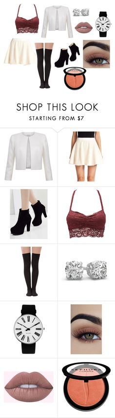 """""""Sophisticated Edgy Flirt"""" by melly1616 on Polyvore featuring Elizabeth and James, Charlotte Russe, Rosendahl and Sephora Collection"""