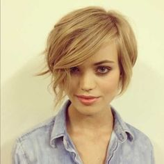 If I was brave enough, I would have my hair cut like this. 20 Bob Short Hair Styles 2013 by Asmodel