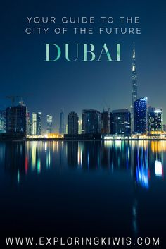 Dubai: Your guide to the City of the Future. Iconic sight-seeing, delicious food, culture and the best places to stay - if you've never visited the UAE, this guide is for you!