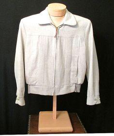 Rockin M Grey Wool Ricky Elvis Jacket w/ Over by LoungeActVintage, $250.00