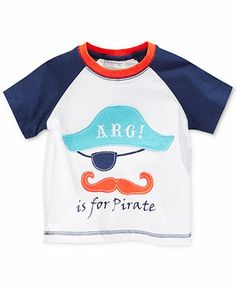 First Impressions Baby Boys' Pirate Tee