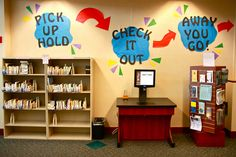 Self-Service Center by Lester Public Library, via Flickr