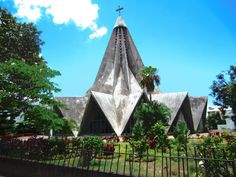 The Lemon Squeezer church in Maputo, Mozambique. Architect: Pancho Guedes