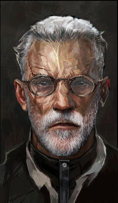 Old man daud by atypicalgamergirl dnd characters, fantasy characters, man c Male Character, Fantasy Character Design, Character Portraits, Character Design Inspiration, Character Concept, Character Creation, Artwork Fantasy, Fantasy Art Men, Fantasy Portraits