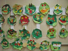 Drag-n-brag is a huge crush of art teachers runni. Down On The Farm, Happy Art, What A Wonderful World, Elementary Art, Famous Artists, Paper Plates, Collage, Art Education, Art School