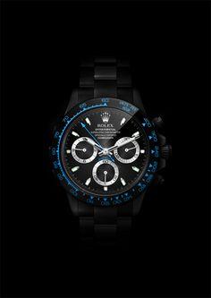 Daytona BlackPearl, digital Rolex