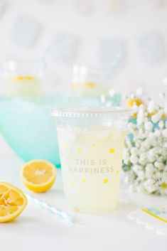 The Perfect Spring Sparkling Maple Lemonade