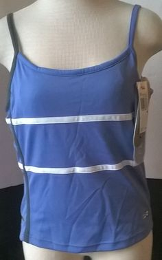 FILA Women's Workout Tennis Running Spaghetti Strap Performa Tank Medium #Fila #ShirtsTops