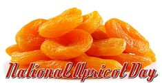 January 9 - National Apricot Day
