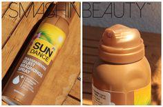 Sun Dance Transparent self tanning spray makeup review