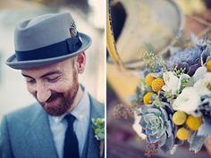 love the grooms hat http://claytonaustinlovestories.com/blog/2011/10/lorissa-steve/