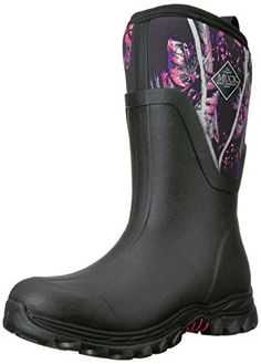 3a4accbb2dad Muck Boot Womens Arctic Sport II Mid Snow BlackMuddy Girl Camo 6 US6 M US