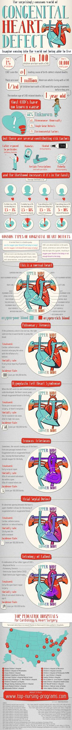 Educating parents about congenital heart defects (Infographic)