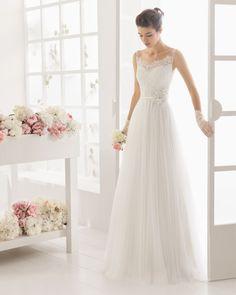 MAGENTA vestido de novia de Aire Barcelona 2016