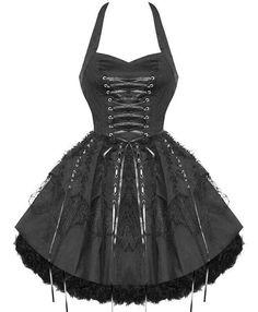 Cute goth dress