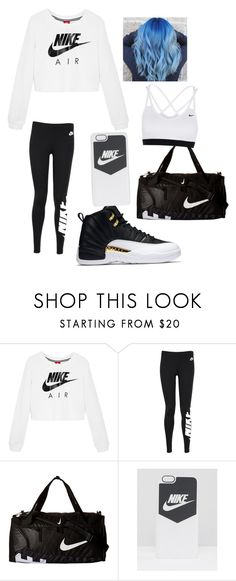 """""""Nike workout"""" by mars12b ❤ liked on Polyvore featuring NIKE"""