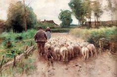 Mauve Anton, Bringing Home The Flock
