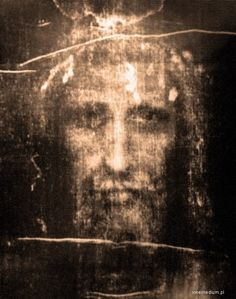 The Holy Face - Many believe this is Jesus' burial shroud, in part because the image seems to have been created by a very powerful event and expected injuries.