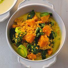 Linsen-Spinat-Dal Rezept | Küchengötter