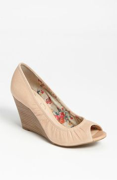 81dfb833b251 Peep Toe Wedges · Have and LOVE! Jessica Simpson  Noah  Wedge Pump  available at Nordstrom Neutral Wedges