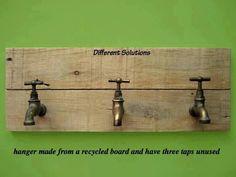 Faucet peg shelf