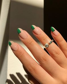 Perfect Nails, Gorgeous Nails, Pretty Nails, Minimalist Nails, Bright Nail Designs, Nail Art Designs, Simple Nail Design, Manicure Nail Designs, Manicure Ideas