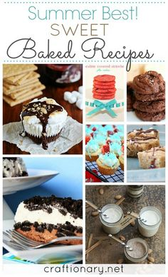 baked recipes #summer #recipes #bake