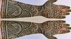#hennaflowerdesigns #hennamedan EASY DULHAN MEHENDI DESIGNS | NEW BRIDAL HENNA MEHNDI DESIGN FOR FULL HANDS | WEDDING MEHNDI DESIGNS Mehndi, Hand Designs, Hand Henna, Hand Tattoos, Henna, Hennas