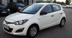 Hyundai i20 1,2 Dohc (85KM) wersja classic plus rok produkcji 2013 Kolor Biały Pastel wnętrze : ciemne Cena samochodu 34,900zł  http://hyundai.lubin.pl/oferta/hyundai-i20-okazja-2013r/23