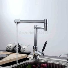 Find More Kitchen Faucets Information about Contemporary Style Deck Mounted Folding Kitchen Faucet,High Quality Kitchen Faucets from sinoexpress on Aliexpress.com