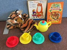 The Tiger Who Came to Tea Dog Bowls, Tea, Teas