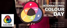 21.March - INTERNATIONAL COLOUR DAY  21.Março - DIA INTERNACIONAL DA COR  #internacionalcolourday #diainternacionaldacor #colorisforall #acoréparatodos #coloradd #social #designforall #innovation #socialimpact
