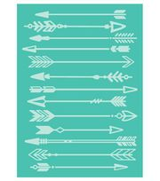 Cricut Cuttlebug Arrows 5x7 Embossing Foldernull