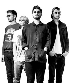 Look at these guys in their ∆-shaped glasses! | 23 Things You Really Should Know About alt-J