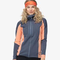 Norrøna trollveggen Powerstretch Pro Zip Hood for Women - Norrøna® Alpine Adventure, Zip Hoodie, Comfy, Hoodies, Jackets, Fashion, Down Jackets, Sweatshirts, Moda