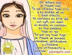 Oracion a la Virgen Maria - Guardame, Defiendeme y Utilizame
