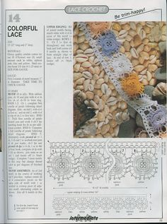 Patterns and motifs: Crocheted motif no. 750