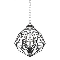 Filament Design Masursky 8-Light Textured Silver Chandelier-CLI-ACG815827 - The Home Depot