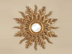 The Sunburst Mirror Gold Sunburst Mirror, Sun Mirror, I Love Mirrors, Mirrors For Sale, Maitland Smith, Gold Gilding, Cloudy Day, Beveled Glass, Timeless Elegance