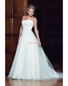 Augusta Jones 2013 Aktuelle Liebste Hochzeitskleider aus Organza